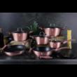 ROSE Metál edénykészlet 15 részes