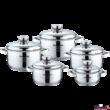 Royalty line fémfedős edénykészlet 1.6 - 2.3 - 3.1 - 4.2 - 6.3liter