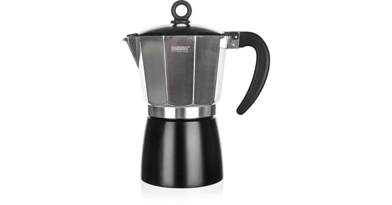 Banquet Noira kotyogós kávéfőző, 6 csészés, 260ml