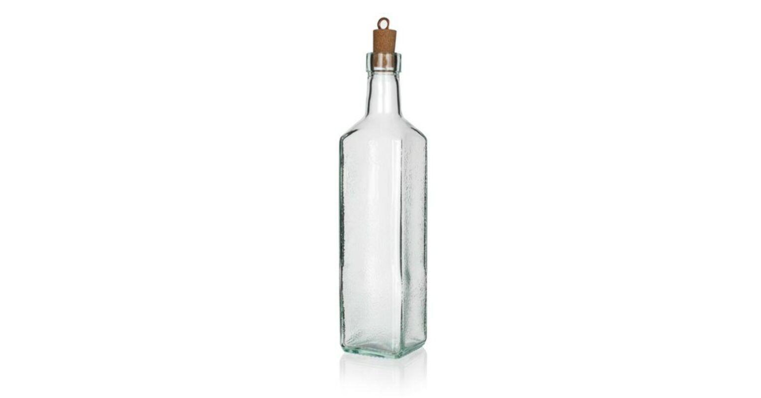 Üveg palack tisztítása