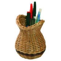 Fonott ceruzatartó