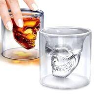 Koponya dupla falú pohár