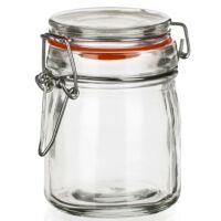 Csatos üveg tároló 150 ml