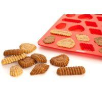 Szilikon aprósütemény sütőforma 32 darabos