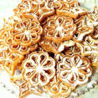 Rózsafánk sütő készlet 6 darabos