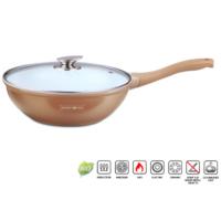 Royalty line wok,fedővel 30 cm