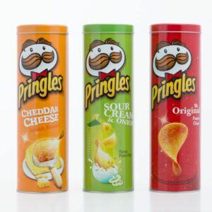 Pringles tárolódoboz ( választható szín )