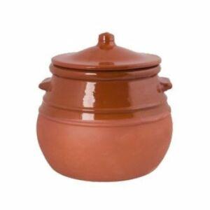 Barna mázas cserépedény 3.5 liter