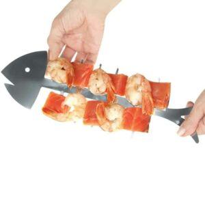 Halszálka grillnyárs