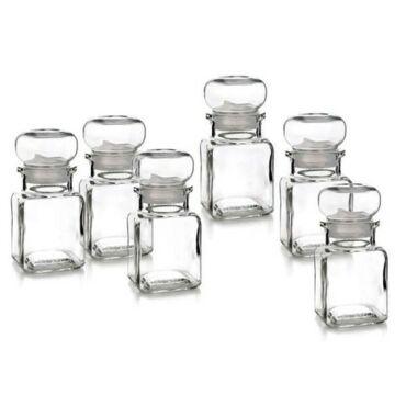 Üveg fűszertartó 150ml AROMI (6db)