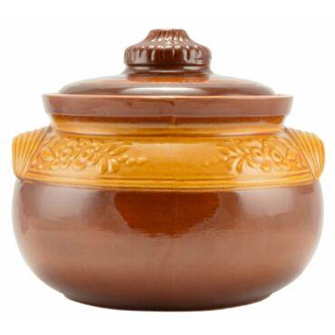 Agyag káposztás edény 6 liter