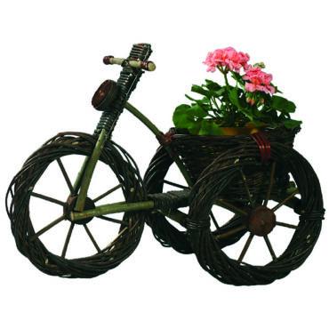 Fonott bicikli virágtartó 62 cm