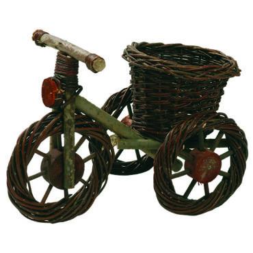 Fonott bicikli virágtartó 42 cm