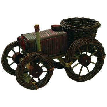 Traktor virágtartó 50 cm x 30 cm