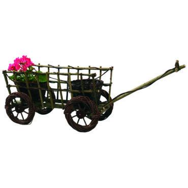 Szekér virágtartó  75 cm x 40 cm