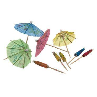 Koktél esernyő 10db Party Collection