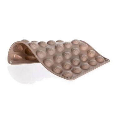 Szilikon mandula sütőforma 40 darabos