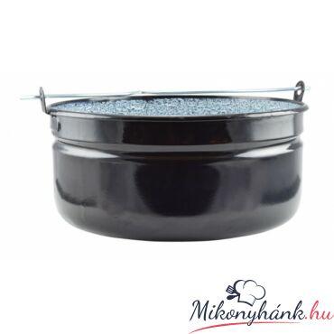 Zománcozott halfőző bogrács 14 liter