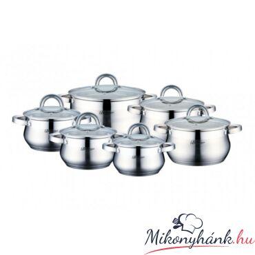 Bachmayer üvegfedős edénykészlet 2,1-2,9-3,9-6,5 liter