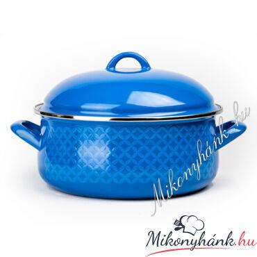 Bonyhádi zománcozott kék labas 5.75 Liter