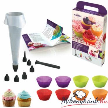 18 darabos Muffin készítő készlet