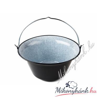 Zománc bogrács 30 liter