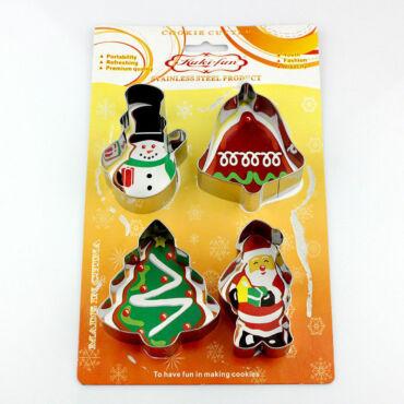 Harang,hóember,fenyő,mikulás Sütikiszúró