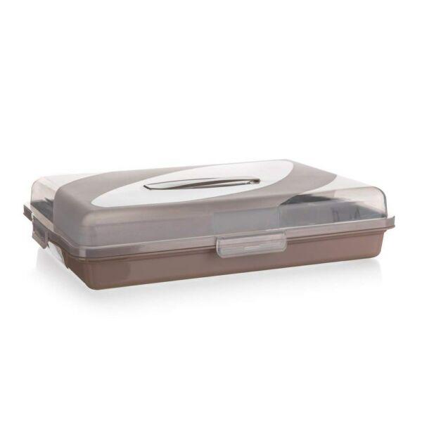 Candy barna süteményes doboz 44 cm x 31 cm