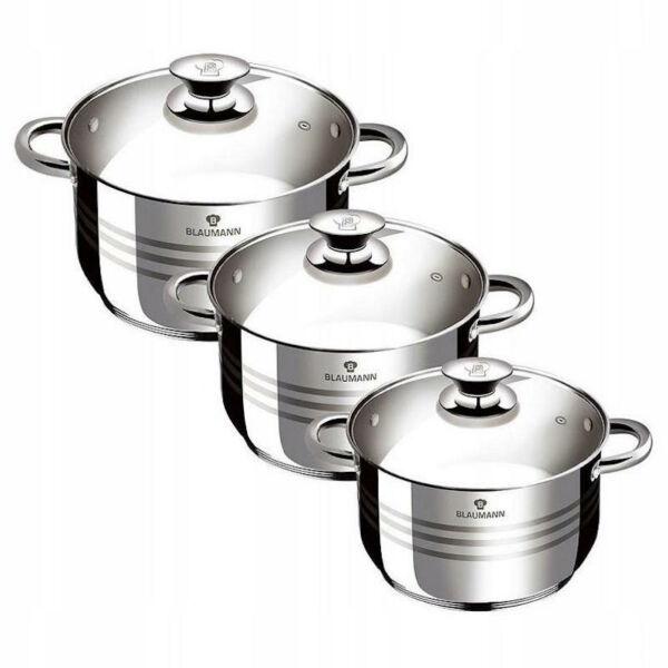 Gourmet Line edénykészlet 2.1 / 3.9 / 6.5 liter