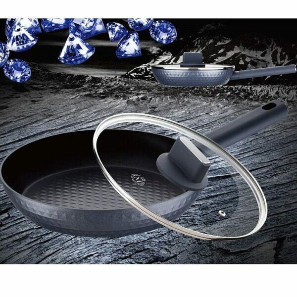 Meisterklasse diamond serpenyő üvegfedővel 28cm