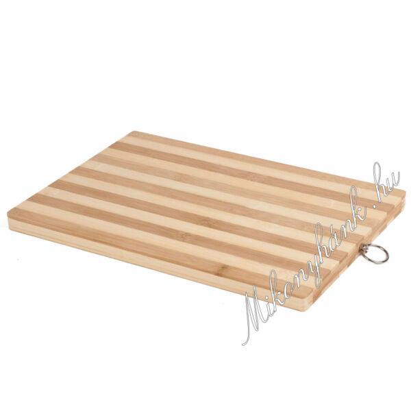 Bambusz vágódeszka 30 x 20cm