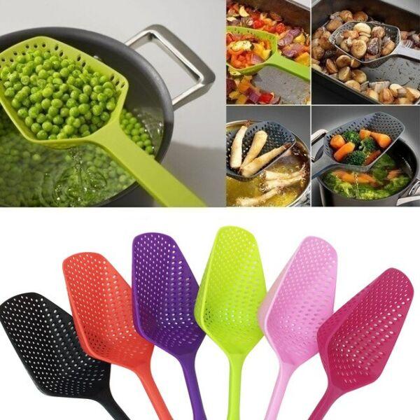 Rizslapát, zöldség kiszedő, tészta kiszedő lapát