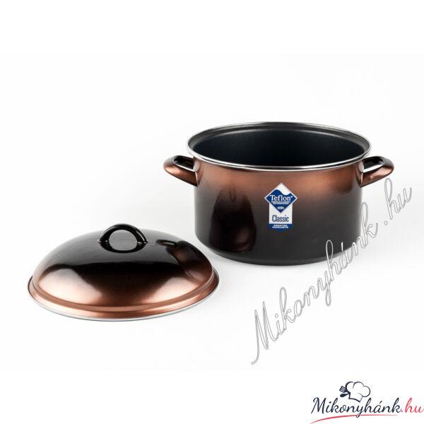 Bonyhádi teflonbevonatos fazék+fedő 3.25 liter