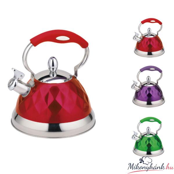 Rozsdamentes teáskanna 3.2 liter (választható szín)