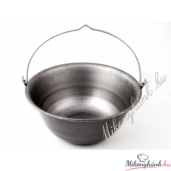Natúr vasbogrács 25 liter