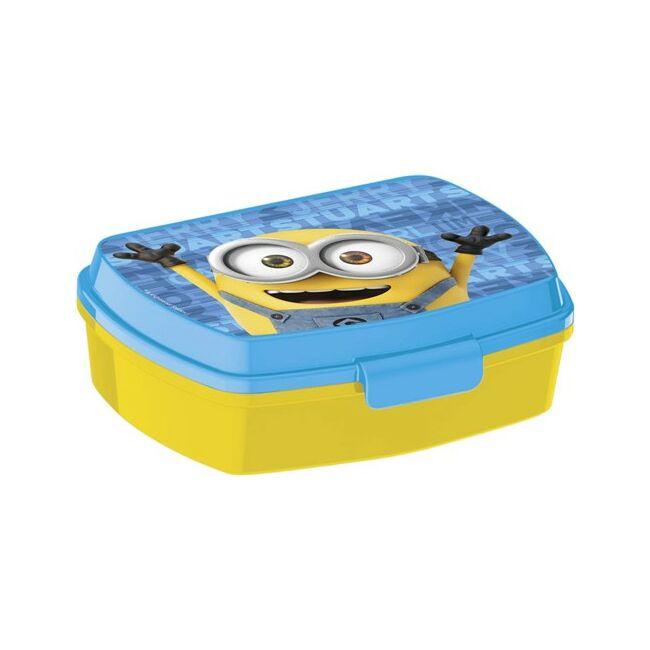 Uzsonna box műanyag Minion