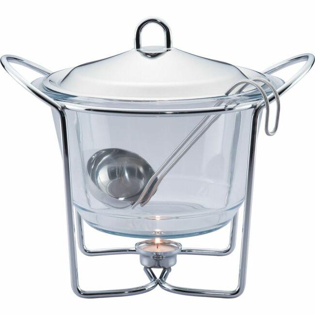 Leves melegen-tartó készlet 4 liter