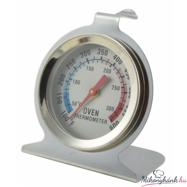 Rozsdamentes sütőhőmérő