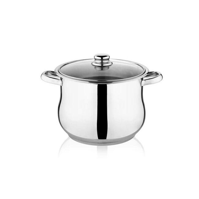 Selecta rozsdamentes fazék fedővel 8.8 liter(indukciós)