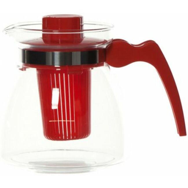 Termisil üveg teáskanna szűrővel 1250 ml