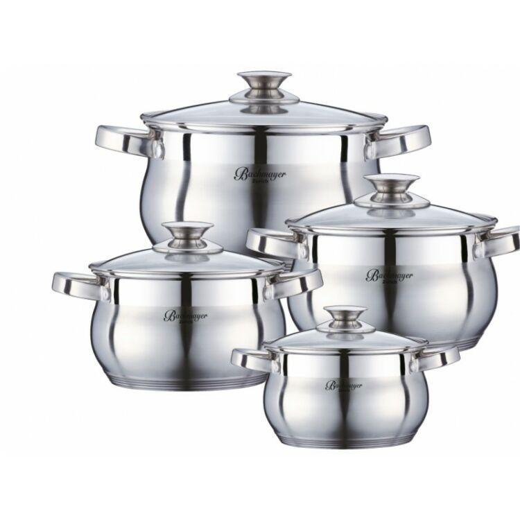 Üvegfedős edénykészlet 2.1 - 2.9 - 3.9 - 6.5liter