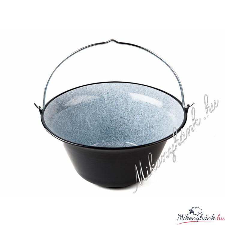 Zománc bogrács 14 liter